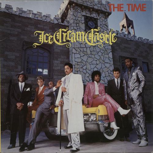 The Time Ice Cream Castle vinyl LP album (LP record) US TMELPIC226487