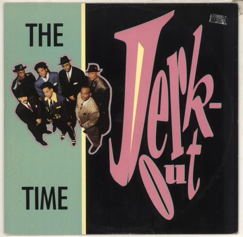 "The Time Jerk Out 12"" vinyl single (12 inch record / Maxi-single) UK TME12JE03436"