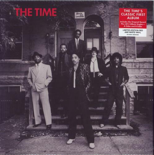 The Time The Time - Red & White Vinyl - Sealed 2-LP vinyl record set (Double Album) UK TME2LTH772006