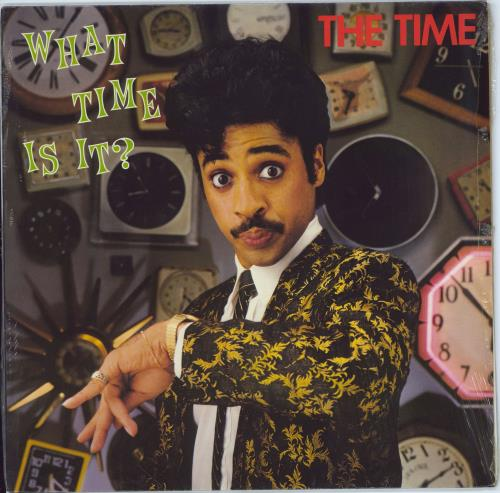The Time What Time Is It? vinyl LP album (LP record) UK TMELPWH73563