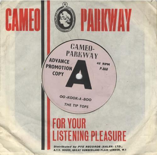 "The Tip Tops Oo-Kook-A-Boo 7"" vinyl single (7 inch record) UK T4Q07OO452167"