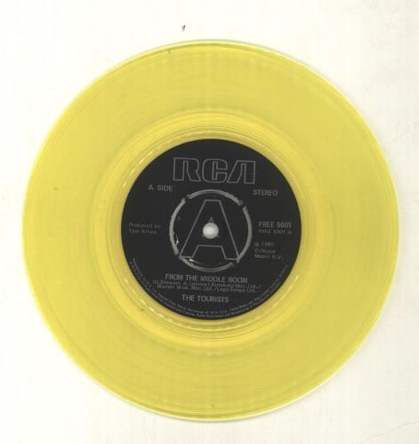 "The Tourists Luminous Basement + 7"" - EX vinyl LP album (LP record) UK TOULPLU703474"