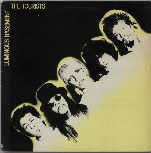 "The Tourists Luminous Basement + Bonus Yellow Vinyl 7"" vinyl LP album (LP record) UK TOULPLU659232"
