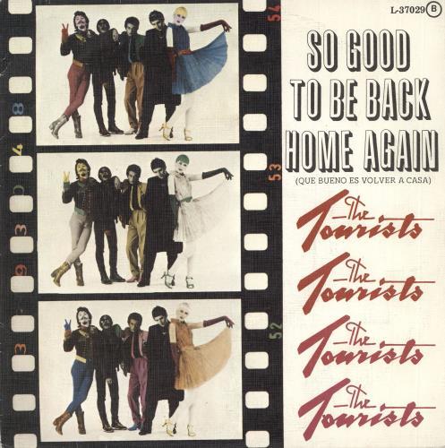 "The Tourists Que Bueno Es Volver A Casa 7"" vinyl single (7 inch record) Spanish TOU07QU307394"