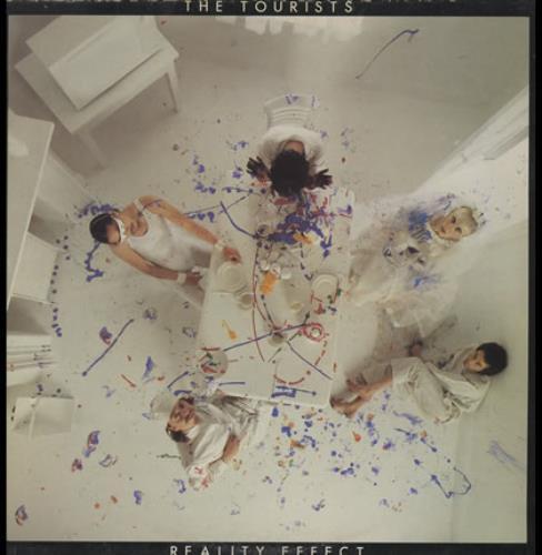 The Tourists Reality Effect vinyl LP album (LP record) UK TOULPRE14217