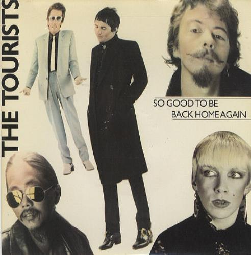 """The Tourists So Good To Be Back Home - Yellow Injection Label 7"""" vinyl single (7 inch record) UK TOU07SO94504"""