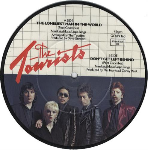 "The Tourists The Loneliest Man In The World 7"" vinyl picture disc 7 inch picture disc single UK TOU7PTH37974"