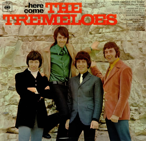 The Tremeloes Here Come The Tremeloes Uk Vinyl Lp Album