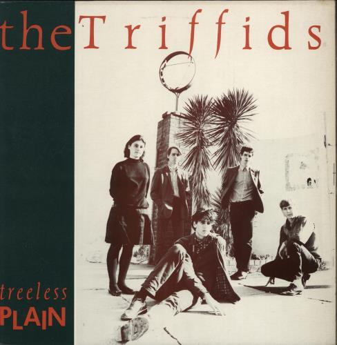 The Triffids (80s) Treeless Plain vinyl LP album (LP record) UK TFILPTR768712