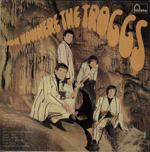 The Troggs From Nowhere... vinyl LP album (LP record) UK TRGLPFR63673