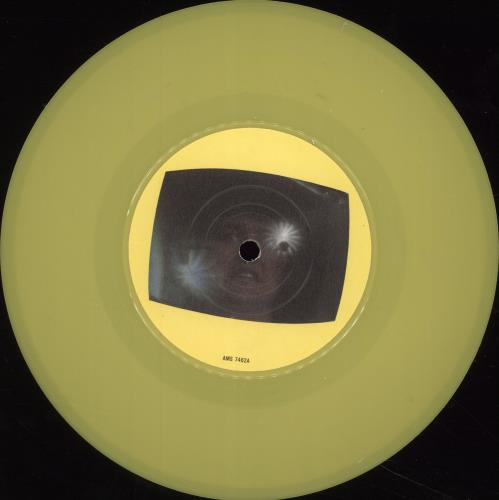 """The Tubes TV Is King - Yellow - P/S 7"""" vinyl single (7 inch record) UK TBE07TV701402"""