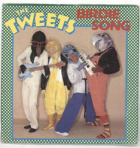 """The Tweets Birdie Song (Birdie Dance) - Picture Sleeve 7"""" vinyl single (7 inch record) UK VVK07BI721219"""