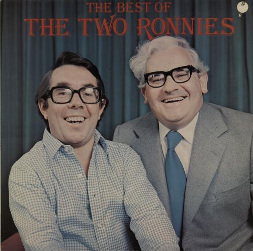 The Two Ronnies The Best Of The Two Ronnies vinyl LP album (LP record) UK TWELPTH317159