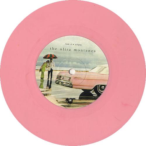 "The Ultra Montanes Cells - Pink Vinyl 7"" vinyl single (7 inch record) UK W5K07CE619824"