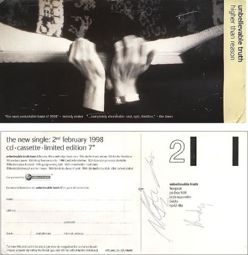 The Unbelievable Truth Autographed Tickets & Flyer memorabilia UK UBTMMAU351082