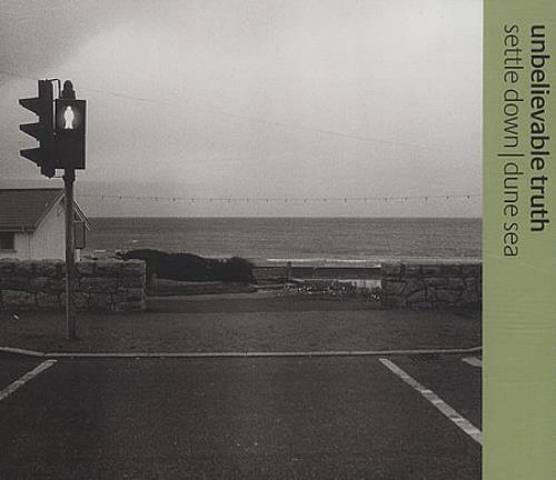 "The Unbelievable Truth Settle Down/Dune Sea CD single (CD5 / 5"") UK UBTC5SE116189"