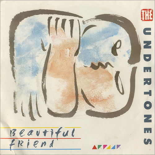 "The Undertones Beautiful Friend 7"" vinyl single (7 inch record) UK UDT07BE186984"