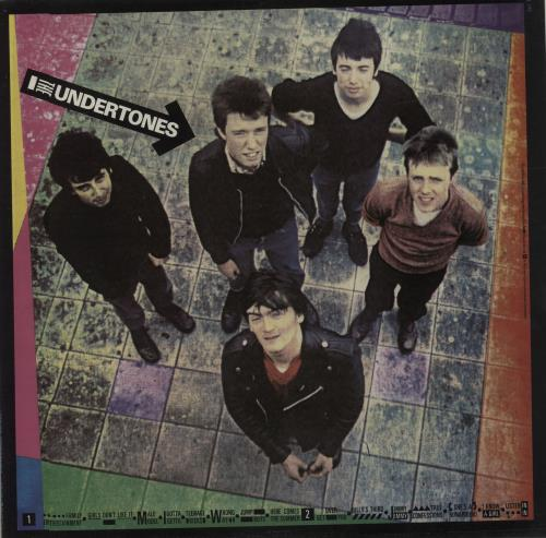 The Undertones The Undertones + Inner vinyl LP album (LP record) UK UDTLPTH290876