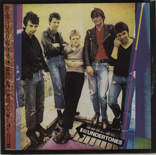 The Undertones The Undertones + Inner vinyl LP album (LP record) UK UDTLPTH290876
