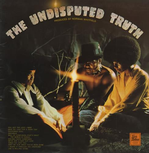 The Undisputed Truth The Undisputed Truth vinyl LP album (LP record) UK DPTLPTH423835