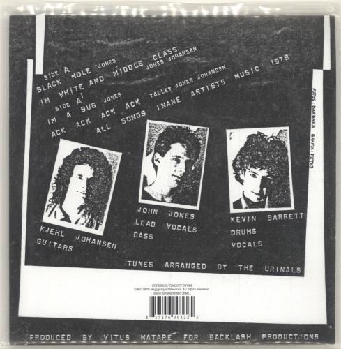"""The Urinals Another EP 7"""" vinyl single (7 inch record) US YXE07AN696174"""
