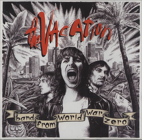 The Vacation Band From World War Zero CD album (CDLP) UK TI8CDBA491595
