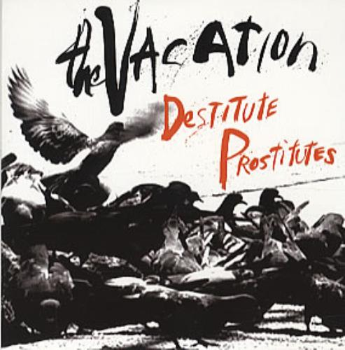 "The Vacation Destitute Prostitutes CD single (CD5 / 5"") UK TI8C5DE314844"