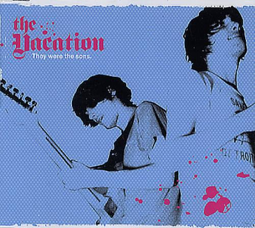 """The Vacation They Were The Sons CD single (CD5 / 5"""") UK TI8C5TH348482"""