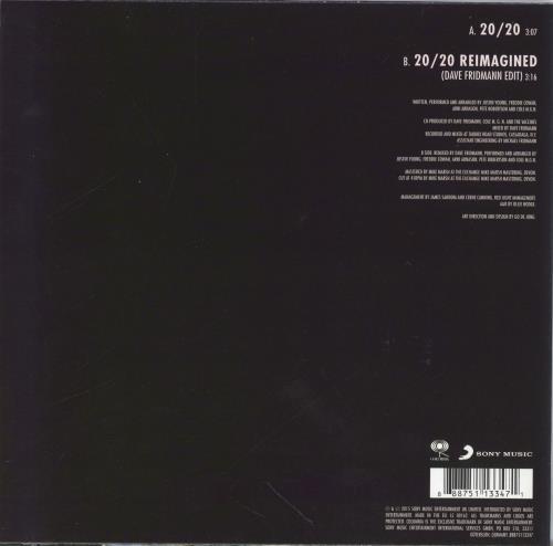 "The Vaccines 20/20 (Twenty Twenty) 7"" vinyl single (7 inch record) UK U2R07TW769019"