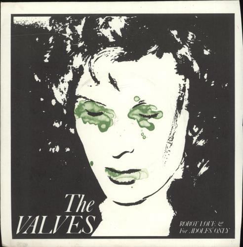 "The Valves Robot Love 7"" vinyl single (7 inch record) UK VVS07RO701466"