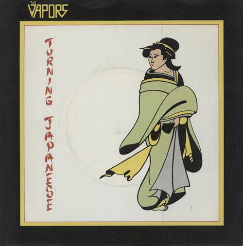 "The Vapors Turning Japanese - P/S 7"" vinyl single (7 inch record) UK VAP07TU43530"