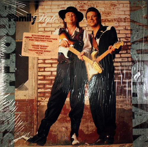 The Vaughan Brothers Family Style vinyl LP album (LP record) US TVBLPFA360806