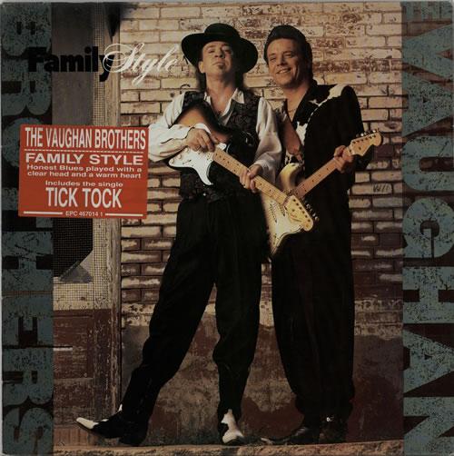 The Vaughan Brothers Family Style vinyl LP album (LP record) UK TVBLPFA384503