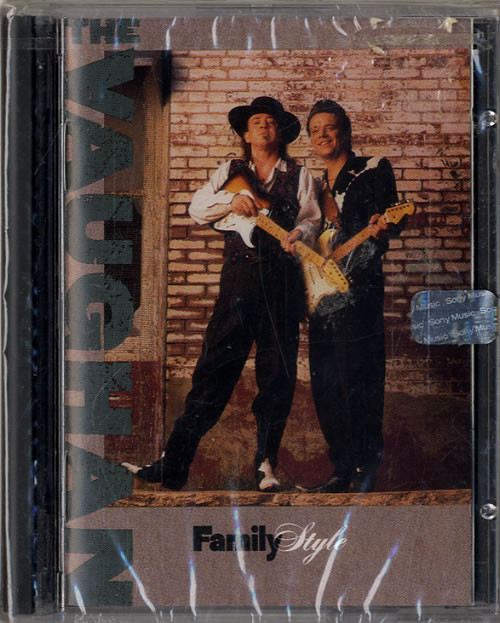 The Vaughan Brothers Family Style mini disc (MD) US TVBMDFA477311