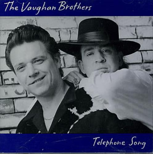 "The Vaughan Brothers Telephone Song CD single (CD5 / 5"") US TVBC5TE123429"