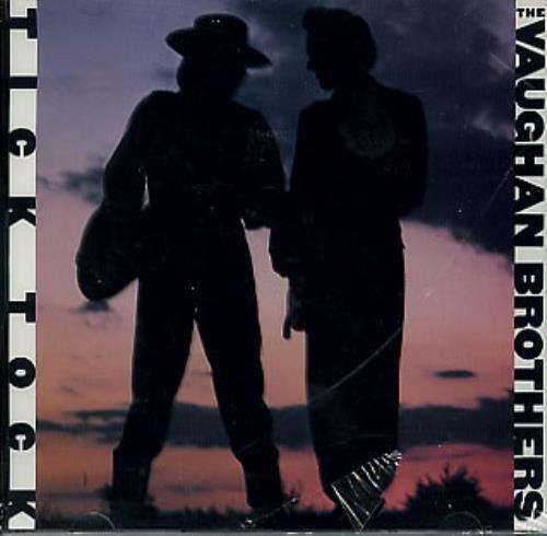 "The Vaughan Brothers Tick Tock CD single (CD5 / 5"") US TVBC5TI123455"