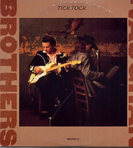 """The Vaughan Brothers Tick Tock CD single (CD5 / 5"""") UK TVBC5TI90400"""