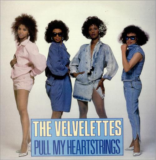 "The Velvelettes Pull My Heartstrings 12"" vinyl single (12 inch record / Maxi-single) UK VE112PU498136"