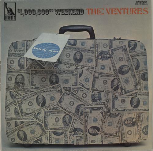 The Ventures $1,000,000 Weekend vinyl LP album (LP record) UK VENLPWE52066
