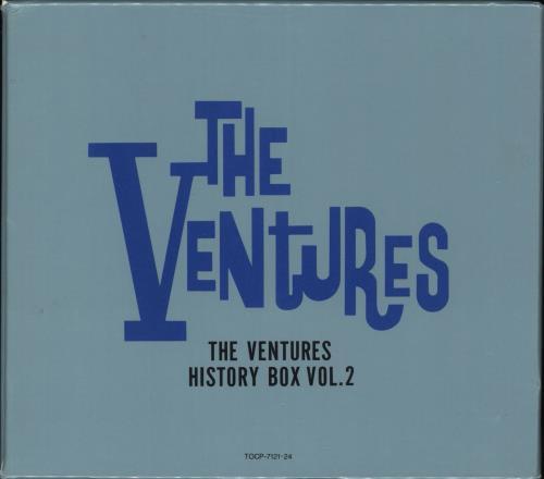 The Ventures The Ventures History Box Vol  2 Japanese CD Album Box Set