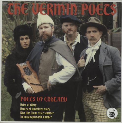 The Vermin Poets Poets Of England vinyl LP album (LP record) UK YJGLPPO681170
