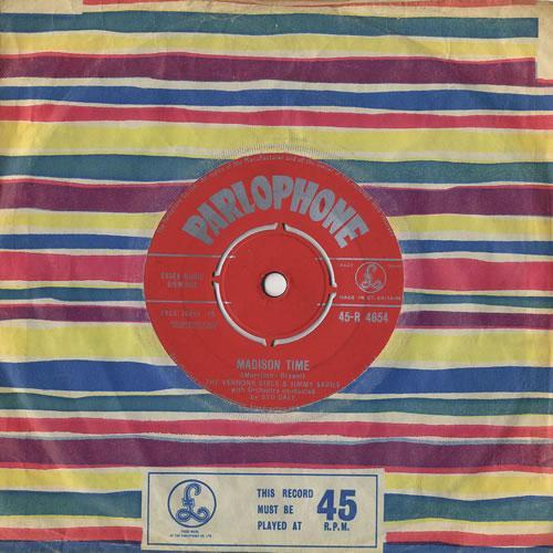 "The Vernons Girls Madison Time 7"" vinyl single (7 inch record) UK VRG07MA491537"