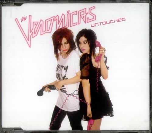 """The Veronicas Untouched CD single (CD5 / 5"""") Australian TVCC5UN421496"""
