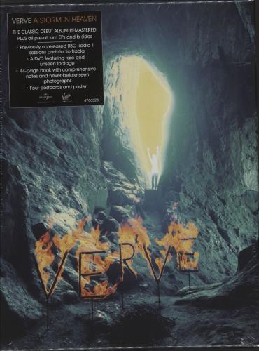 The Verve A Storm In Heaven - Box Set UK CD Album Box Set