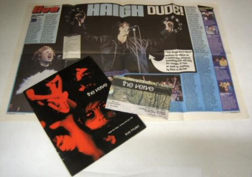 The Verve Haigh Hall Wigan Uk Tour Programme 384872