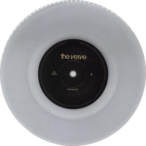 "The Verve Rather Be 7"" vinyl single (7 inch record) UK VVE07RA452793"