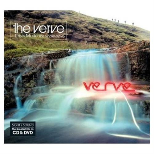 The Verve This Is Music: The Singles 92 - 98 [Sight & Sound] UK 2-disc  CD/DVD set