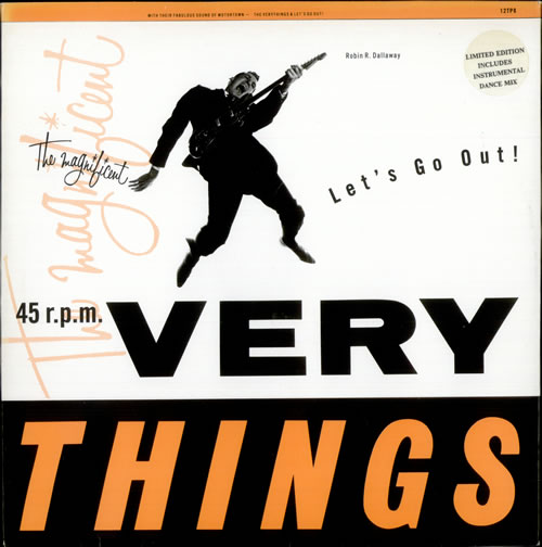 """The Very Things Let's Go Out - Full 12"""" Version 12"""" vinyl single (12 inch record / Maxi-single) UK TFV12LE504044"""