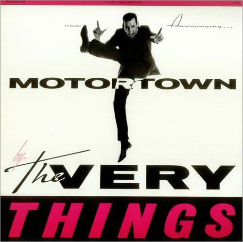 The Very Things Motortown vinyl LP album (LP record) UK TFVLPMO453295