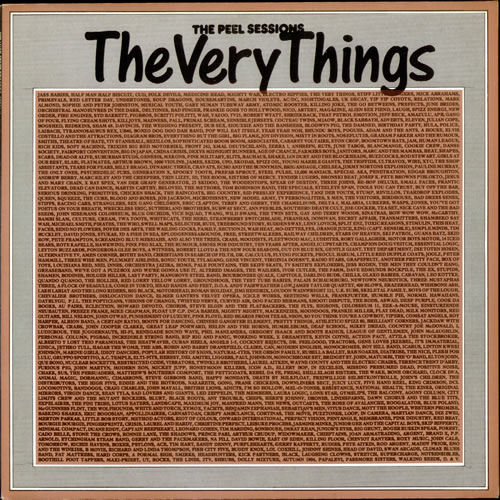"The Very Things The Peel Sessions 12"" vinyl single (12 inch record / Maxi-single) UK TFV12TH302615"